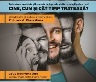 Conferința Stresul, Anxietatea, Depresia (S.A.D) ed. 6, Piatra Neamț