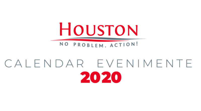 Calendar evenimente Houston 2020