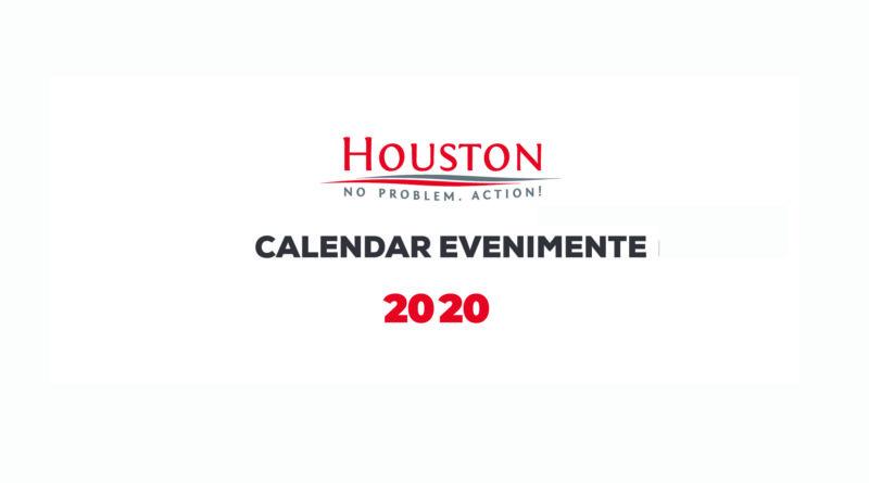 Calendar Evenimente 2020