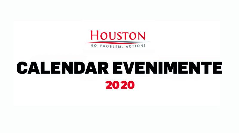 Calendar Houston 2020